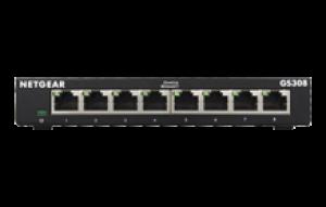 Netgear 8-Port Gigabit Ethernet Switch - GS308V3