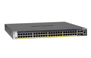 48x1G PoE+ Stackable Managed Switch with 2x10GBASE-T and 2xSFP+ (550W PSU)