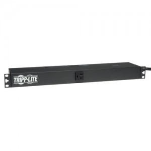 1.8kW Single Phase Basic PDU 120V Outlets 13 5 15R 5 15P 15ft Cord 1U Rack Mount