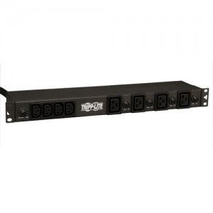 4.8 5.8kW Single Phase Basic PDU 200 240V Outlets 16 C13 4 C19 L6 30P 15ft Cord 1U Rack Mount