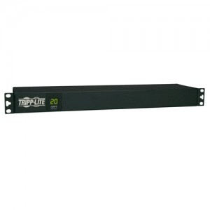 1.92kW Single Phase Metered PDU 120V 12 5 15 20R L5 20P 5 20P 110 127V Input 15ft Cord 1U Rack Mount