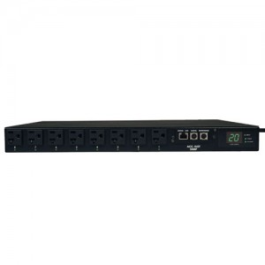 1.9kW Single Phase ATS Switched PDU 120V 16 5 15 20R 2 L5 20P 5 20P Inputs 2 12ft Cords 1U Rack Mount
