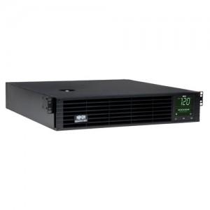 SmartPro 120V 2.6kVA 1.92kW Line Interactive Sine Wave UPS 2U Rack Tower Extended Run SNMPWEBCARD Option LCD Display USB DB9 Serial