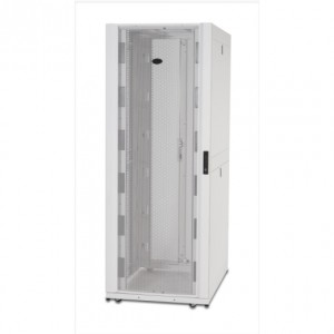 NetShelter SX 42U 750mm Wide x 1200mm Deep Enclosure with Sides White