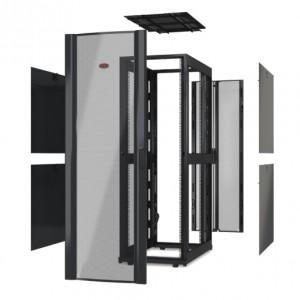 NetShelter SX 42U 600mm Wide x 1200mm Deep Enclosure Without Doors Black