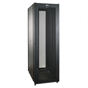 42U SmartRack Value Series Standard Depth Rack Enclosure Cabinet 2000 lb Capacity doors side roof bottom panels