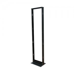 45U SmartRack 2 Post Open Frame Rack 800 lb Capacity Organize Secure Network Rack Equipment