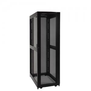 42U SmartRack Expandable Standard Depth Server Rack Enclosure Cabinet side panels not included