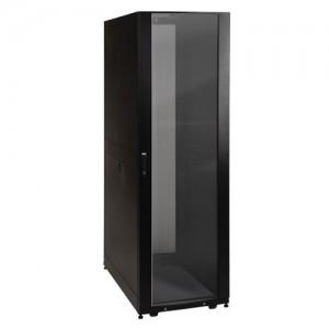 SmartRack 42U Standard Depth Rack Enclosure Cabinet Clear Acrylic Window