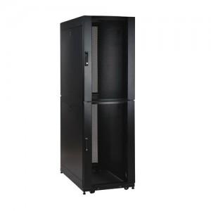 48U SmartRack Co Location Standard Depth Rack Enclosure Cabinet 2 separate compartments