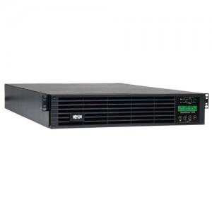 SmartOnline 120V 3kVA 2.7kW Double Conversion UPS 2U Rack Tower Extended Run SNMPWEBCARD Option LCD display USB DB9 Serial