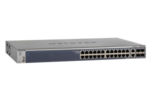 26 ports Gigabit, Layer 2+ software package