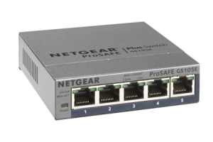 Netgear Gigabit Smart Managed Plus Switch Series - GS105EV2