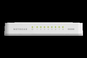 Netgear 8-Port Gigabit Ethernet Switch - GS208V2