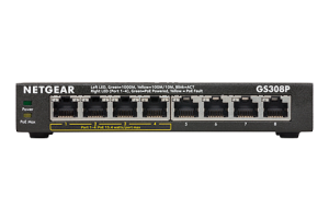 8-Port Gigabit Ethernet Switch with 4-Ports PoE