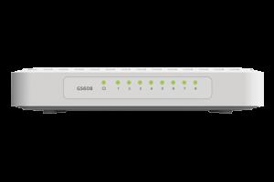 Netgear 8-Port Gigabit Ethernet Switch - GS608V4
