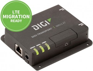 Digi TransPort ® WR11 XT Secure 3G/4G/LTE cellular router for retail, kiosk and industrial control applications Digi TransPort WR11 XT