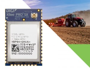 Digi XBee ® SX 900 MHz OEM RF modules pack maximum power, security, and flexibility into the Digi XBee SMT footprint for mission-critical wireless designs Digi XBee-PRO® SX Module